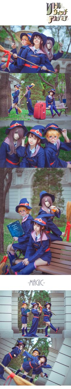 [Cosplay] Little Witch Academia Trio - Album on Imgur