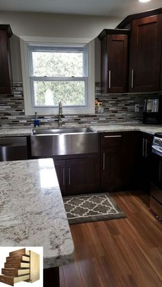 kitchen remodel on a budget . kitchen remodel before and after . kitchen remodel with island . Farmhouse Kitchen Island, Kitchen Redo, Home Decor Kitchen, New Kitchen, Home Kitchens, Kitchen Design, Kitchen Ideas, Awesome Kitchen, Kitchen Chairs