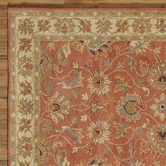 Found it at Joss & Main - Sansa Floral Wool Hand-Tufted Area Rug