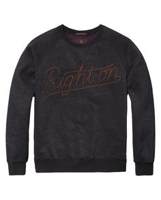 Embroidered Sweater | sweat | Men Clothing at Scotch & Soda