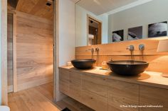 || Arte Rovere Antico - Photo by Duilio Beltramone for Sgsm.it || Casa Nera - Sestriere - Italy - Wood Interior Design - Mountain House