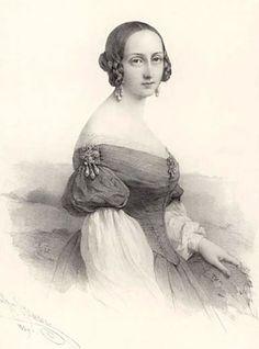 Grand Duchess Maria Nikolaevna Romanova (18 Aug 1819-21 Feb 1876) Russia by Artist Unknown. Child of Tsar Nicholas I Pavlovich Romanov (1796-1855) Russia & Princess Charlotte-Alexandra (Alexandra Feodorovna) (1798-1860) Prussia.