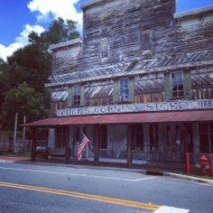 authenticfl:  Adams Country Store. White Springs. #authenticflorida #suwanneeriver