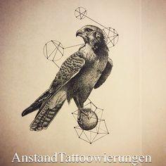 falcon tattoo occult - Google Search