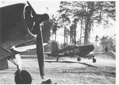 Bougainville, 1944. #aviationideas