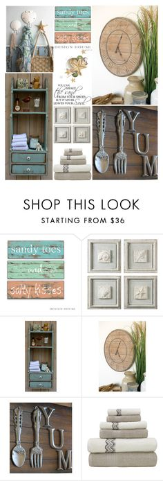 """""""Beach Cottage"""" by grozdana-v ❤ liked on Polyvore featuring interior, interiors, interior design, home, home decor, interior decorating and Thos. Baker"""