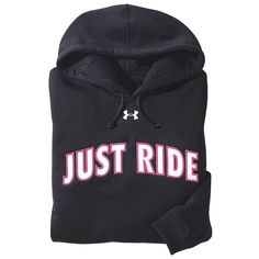 Just Ride Hoodie - Horse Themed Gifts, Clothing, Jewelry & Accessories all for Horse Lovers