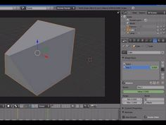 Tutorial Blender 3D 2.5 - Corso di base - 73: animazioni Edit Mode: Vertex Keys Shape Keys - 1 - #Animazioni #Blender #CorsoBlender #EditMode #LezioniBlender #Morphing #Redbaron85 #ShapeKey #VertexKey #Videotutorial http://wp.me/p7r4xK-d8