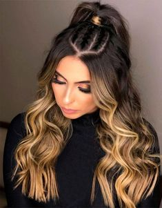 Fresh Purple Hair Color Shades & Hairstyles for Fall Season 2019 Brown Hair Color Shades, Hair Color Purple, Brown Hair Colors, Cool Hair Color, Brown Hair With Blonde Highlights, Latest Hair Color, Easy Hairstyles For Long Hair, Braided Hairstyles, Hair Color Balayage