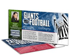 Gotta love real estate football schedule postcards for real estate agents eager to stay top of mind all season long!