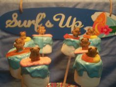 Beach Party Marshmellow Pops {Week Five: CANDY MOLDS & CAKE POPS} #CWWYG #crafts