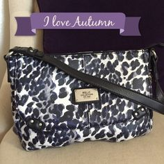 ✨NEW✨ Relic leopard purse ✨new✨ Relic Leopard print purse with the zipper pocket in back and fold over pocket in front. Interior compartments has pockets to hold cell phone, accessories, etc. nice medium size over the shoulder bag. 100% vegan. Relic Bags