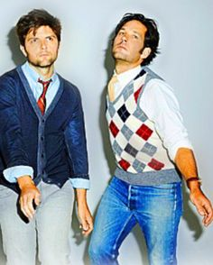 adam scott & paul rudd MY TWO HUSBANDS (hope John Stamos doesn't get jealous!)