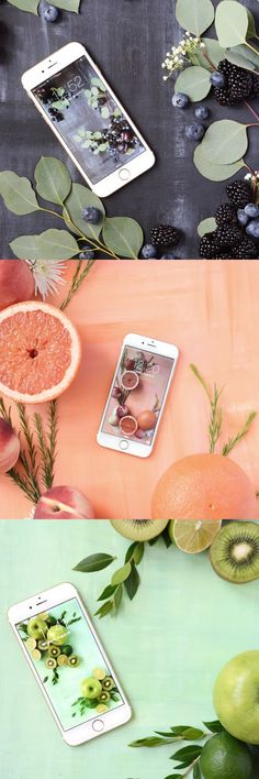 Oleander and Palm: Free Fresh Fruit Art Wallpaper for your phone