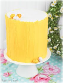 Bubble and Sweet: Spring inspired Easter cake and Lemon and Poppyseed cake recipe