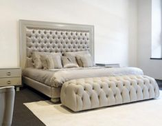 ZAHRA - Double bed / traditional / upholstered / with upholstered headboard by Mantellassi 1926 Luxury Furniture, Bedroom Furniture, Bedroom Decor, Furniture Ideas, Furniture Design, Tufted Bed, Upholstered Beds, Luxury Bedroom Design, Interior Design