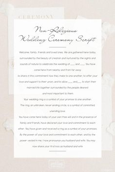 7 Best Wedding Officiant Script Images Wedding Officiant