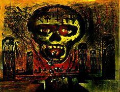SLAYER death metal heavy album art cover dark g wallpaper | 1450x1115 ...