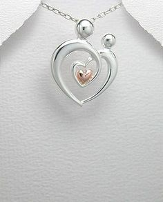 29mm x 17mm Mia Diamonds 925 Sterling Silver Solid Antiqued Heart Cross Charm