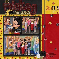 Disney {pinned by www.thedisneykids.com} #DisneyScrapbooking #DisneyScrapbook