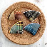 和柄のデザインがおしゃれ!お正月の雰囲気にもぴったりの和布のポーチの作り方(6作品)