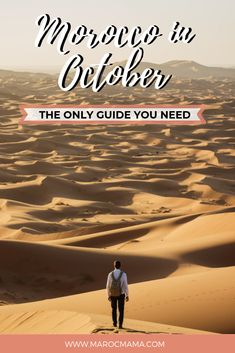 Are you planning a trip to Morocco during the fall months? If so, check out these travel tips for visiting Morocco in October. It's the only travel guide you'll need. Visit Morocco, Morocco Travel, Fall Months, Marrakesh, Time Of The Year, Where To Go, Continents, Countryside, Travel Guide