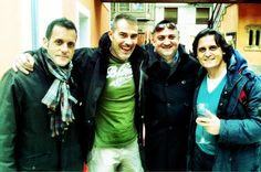 Con grandes amigos en Elx