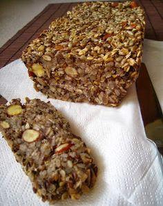 Szybkie gotowanie: Najzdrowszy chleb na świecie - chleb bez mąki, z samych ziaren (chleb zmieniający życie)