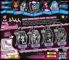 Monster High Party Ideas: click PRINT in lower left corner for printables and other party ideas.