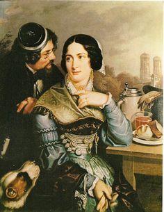 1847 -  Die schöne Münchnerin - Corps Suevia München – Wikipedia