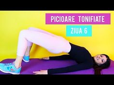 EXERCITII PENTRU PICIOARE/ ZIUA 6/ PICIOARE SUBTIRI SI TONIFIATE [HD] - YouTube Youtube, Youtubers, Youtube Movies