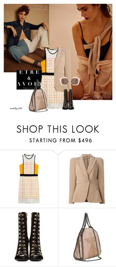 """Personality..."" by katelyn999 ❤ liked on Polyvore featuring Anja, MSGM, Alexander McQueen, Balmain, STELLA McCARTNEY and Marni"