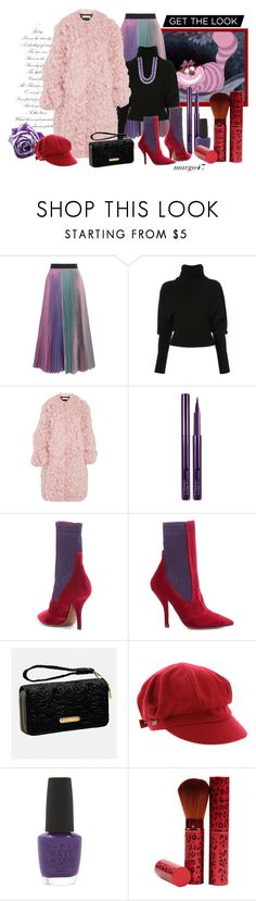 """""""jesienne"""" by margo47 ❤ liked on Polyvore featuring Christopher Kane, Creatures of the Wind, Marni, By Terry, Fendi, Avenue, Betmar, OPI and Victor Velyan"""