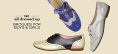 All Dressed Up: Brogues for Boys & Girls - http://ordeer.net/all-dressed-up-brogues-for-boys-girls/