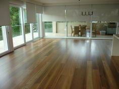 Spotted Gum flooring #timberflooring Flooring For Stairs, Timber Flooring, Hardwood Floors, Spotted Gum Flooring, Parquetry, New Farm, Tile Floor, Beach House, Bamboo