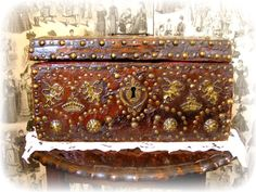 Antique Jewelry Box Wedding or Marriage Coffer by KittysJewelryBox, $5125.00