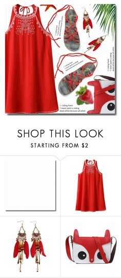 """Red life"" by soks ❤ liked on Polyvore featuring polyvoreeditorial"