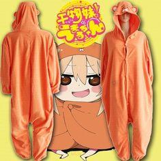 Anime Himouto Umaru-chan Umaru Doma kigurumi Cosplay Costume Onesies Jumpsuits