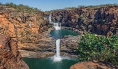 Mitchell Falls, Puzzle Of The Day, Waterfall Fountain, New Zealand, Jigsaw Puzzles, Australia, Adventure, Outdoor, Beautiful