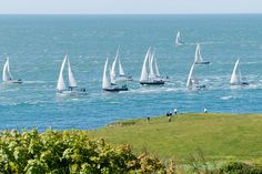 Round the Island Yacht Race, Niton Point