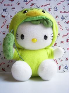 Gotochi Kappa Hello Kitty SHINSHU Japan mascot Plush Doll Charm Hello Kitty Toys, Pink Sparkly, Plush Dolls, Sanrio, Kawaii, Teddy Bears, Birthday, Cute, Creatures