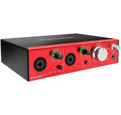 Are you up to Thunderbolt speed? The Focusrite Clarett Series audio interfaces can deliver. Designed for more permanent installations, the Clarett 2 Pre combines two newly designed Clarett mic preamps, with class-leading digital conversion and extraordinarily low round-trip latency - so low that you can use DAW plugins while monitoring your recordings.