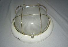 Online veilinghuis Catawiki: Grote wand / plafond Kooilamp / scheepslamp