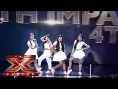 Live Shows? No Problem for 4th Impact | Live Week 1 | The X Factor 2015 - YouTube