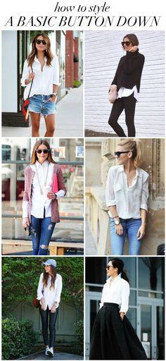 709bd53c515 20 Best White Button Down Shirt images