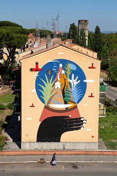 paxmachina:  Agostino Iacurci - Rome, Italy