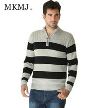 2016 Brands Polo Cardigan Sweater Casual Patchwork Striped 100% Cotton Male Christmas Sweater Zipper Men Winter Coat AML310(China (Mainland))