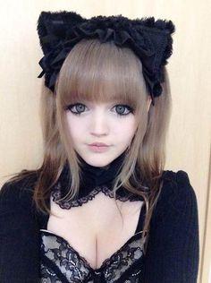 Dakota Rose - Halloween selfie (Also - notice the fake cleavage, lol)