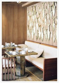 Viceroy Hotel Anguilla - love the metal fish on the wall