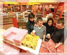 La Boutique - Le Musée du Bonbon Haribo sur Uzès dans le Gard